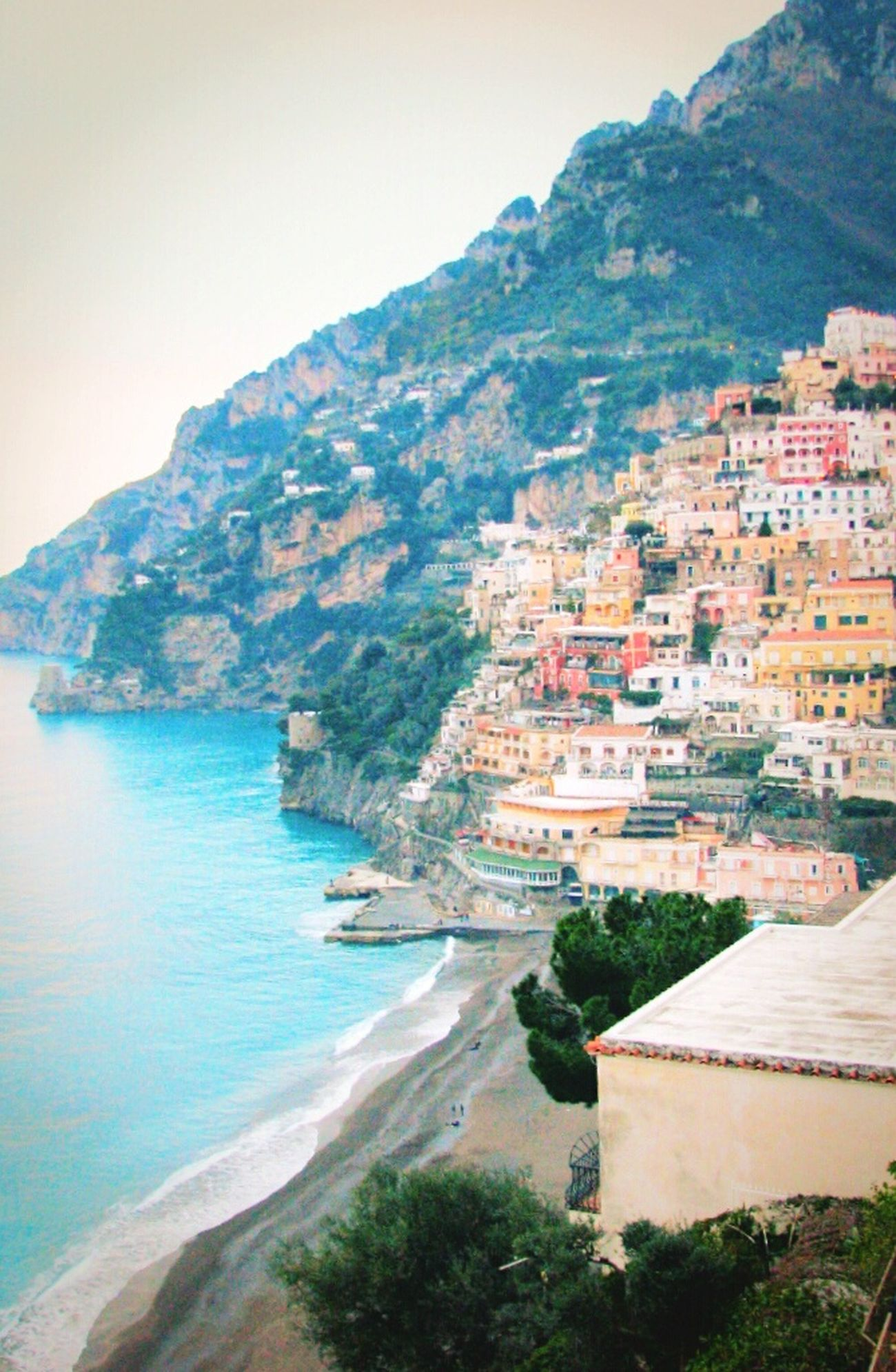 4YearsAgo Travel City Positano Italy Amalfi  Gorgeous Romantic Colorful