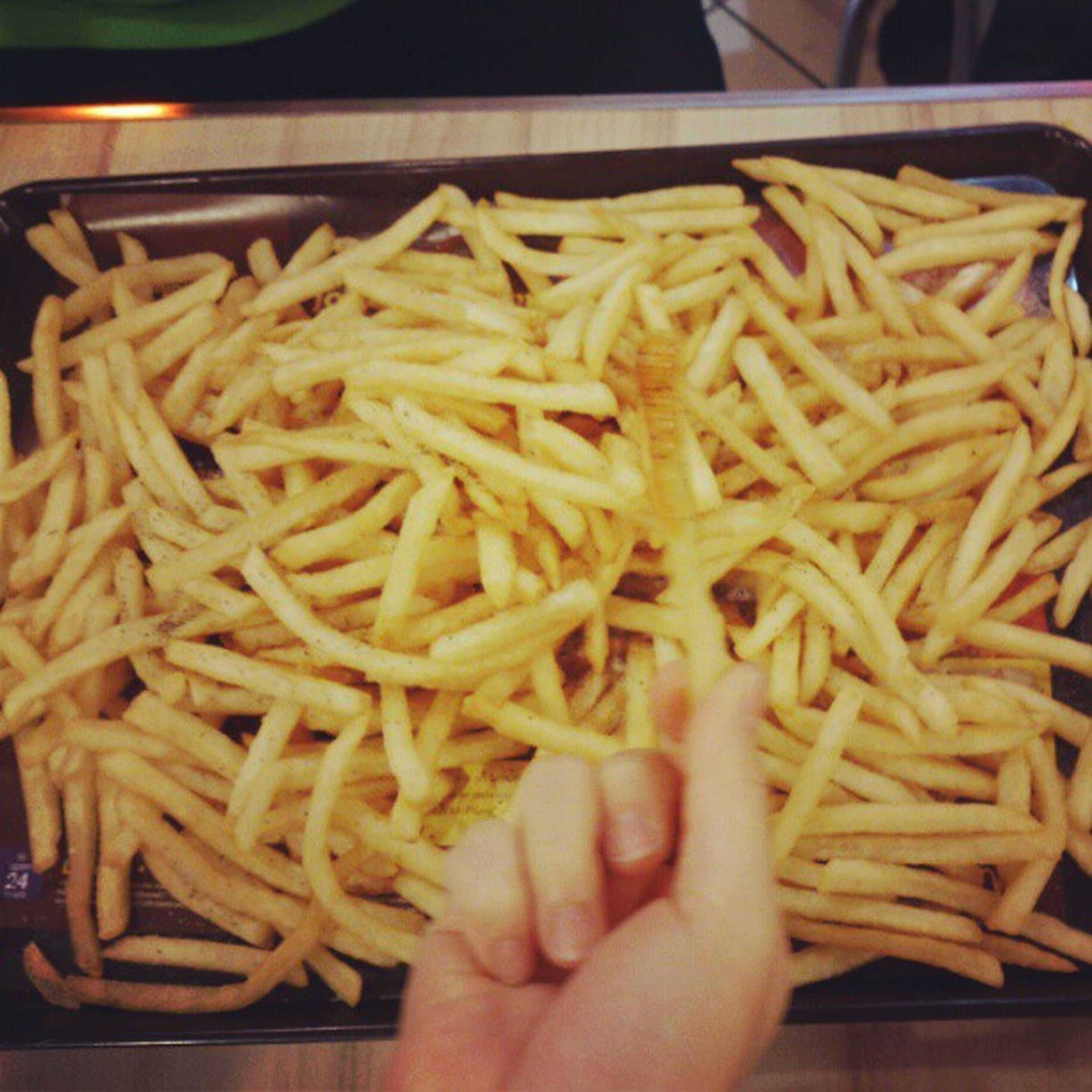 food, food and drink, indoors, freshness, ready-to-eat, close-up, healthy eating, still life, pasta, french fries, part of, meal, person, meat, cropped, high angle view, noodles, deep fried, table, plate