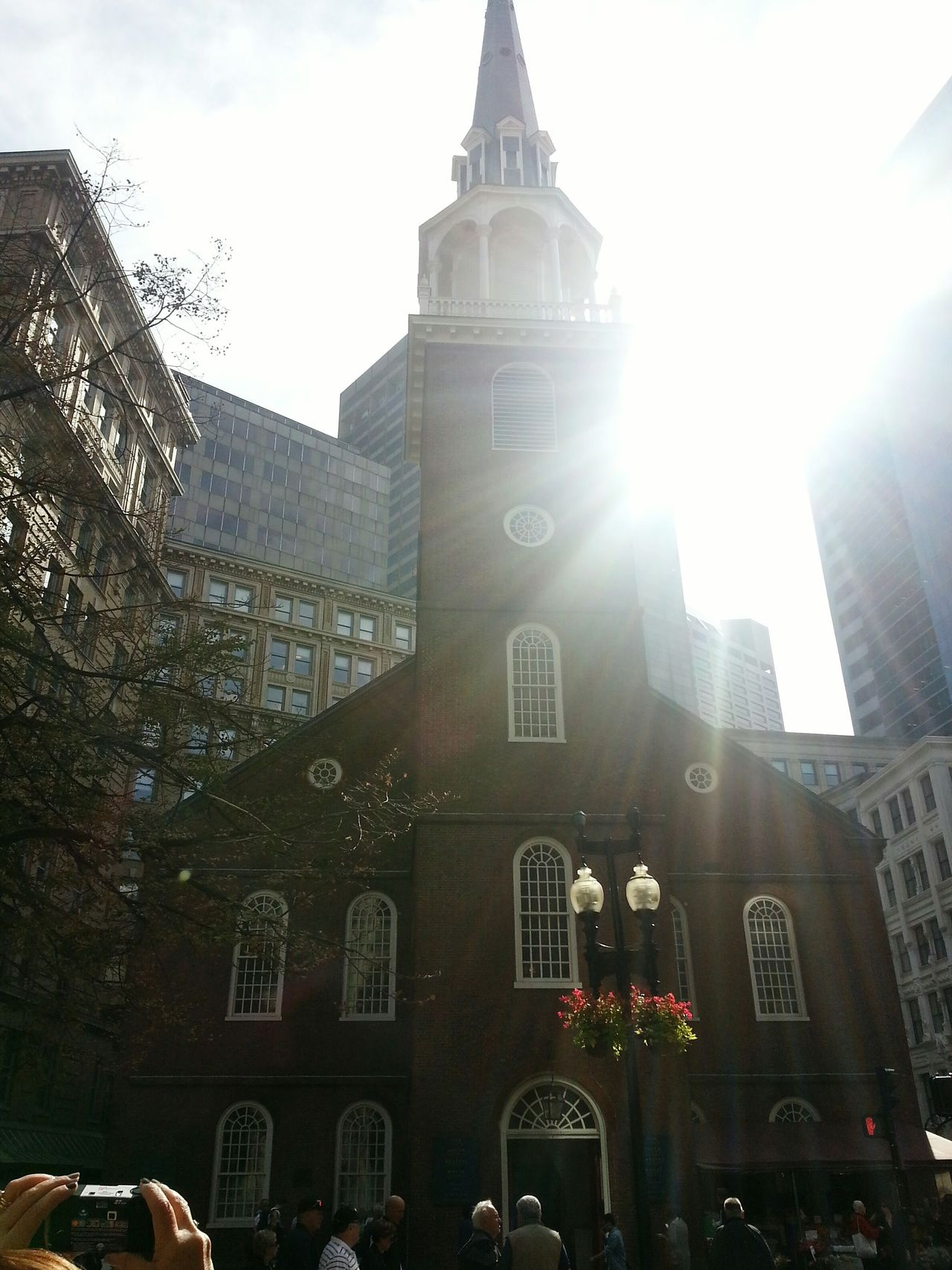 The Freedom Trail Downtown Boston Walking Around Taking Pictures Beautiful Sun Reflection Sun Rays Reflective People In The Streets Hidden Gems  Boston