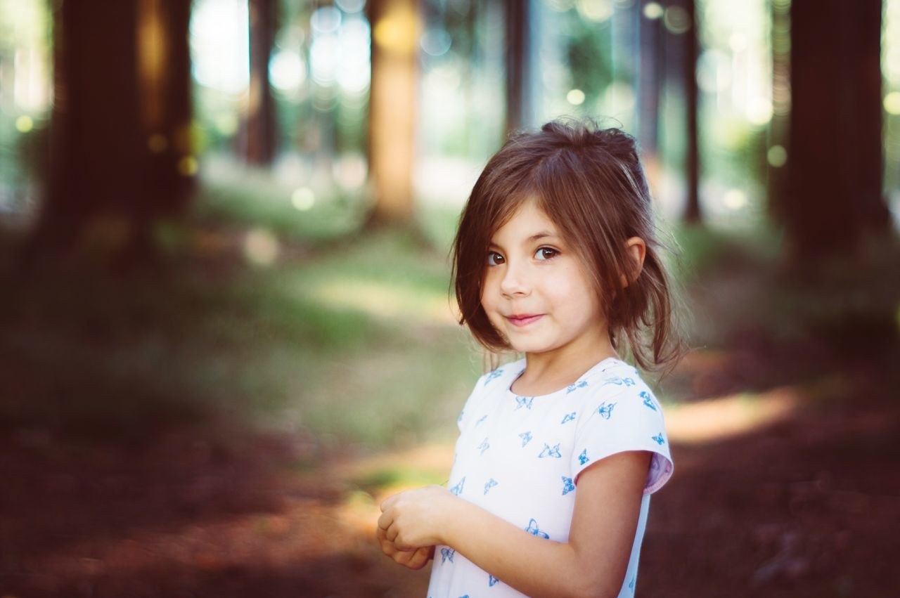 IN A FAIRYTALE| Child Portrait Girls Childhood People Outdoors Day Beauty Smiling Nature EyeEm Best Edits EyeEm Nature Lover EyeEm Best Shots EyeEm Gallery Summer Beauty In Nature Life Lightroom Freshness EyeEm Selects One Person Looking At Camera Children Only Focus On Foreground Fresh On Eyeem