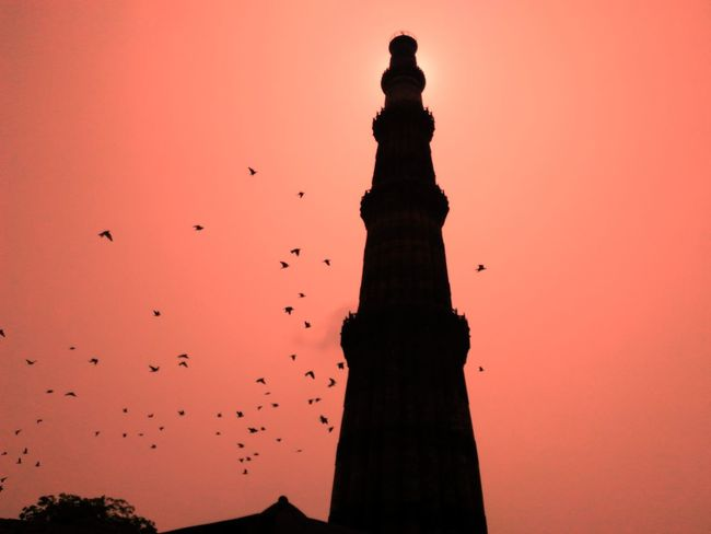 Silhouette Sky Statue No People Outdoors Day Business Finance And Industry Human Body Part Retail  Teamwork Person Qutabminar Vanishing Point Indoors  Adult Indoors  Monochrome Photography Corridor Retail  Retail  Bangle One Person Horizontal Diminishing Perspective Narrow