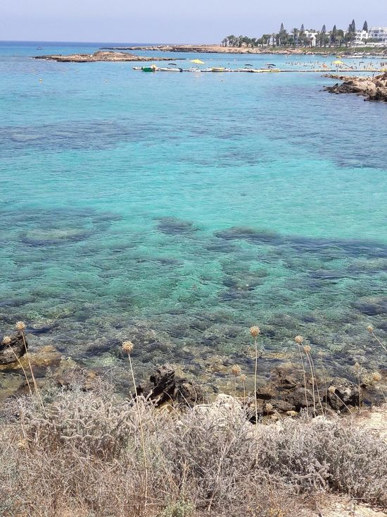 Beach Sea Blue Nature Beauty In Nature Moment Nature_perfection Explore The World Water_collection Cyprus Colors Of Nature Colors