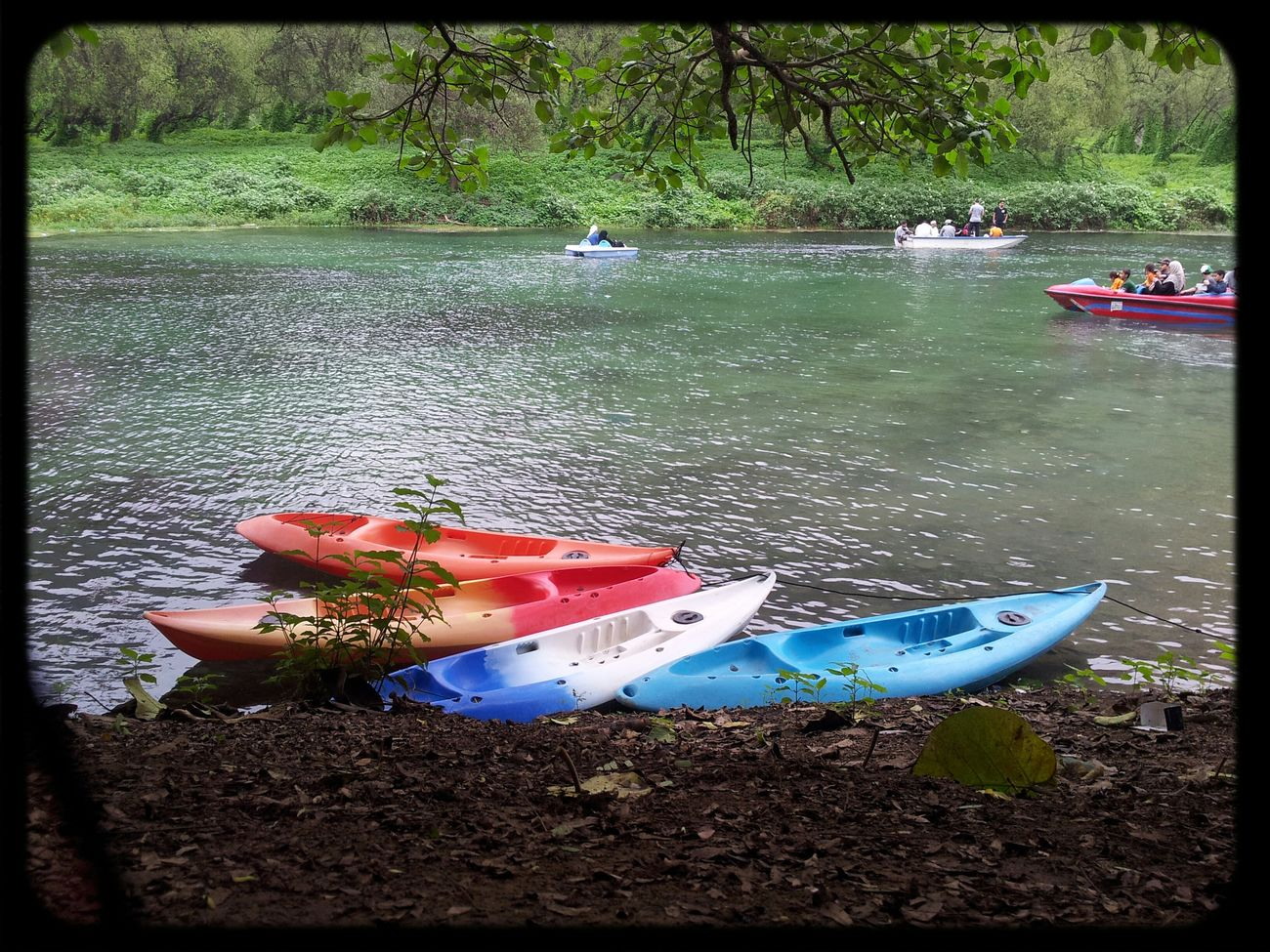 Beautiful Nature Kayaking Cloudy And Greenary First Eyeem Photo