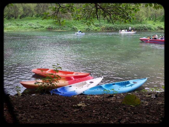 Beautiful Nature Kayaking Cloudy And Greenary First Eyeem Photo