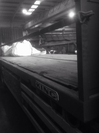Truck Lorry Flatbed Steel King Hgv
