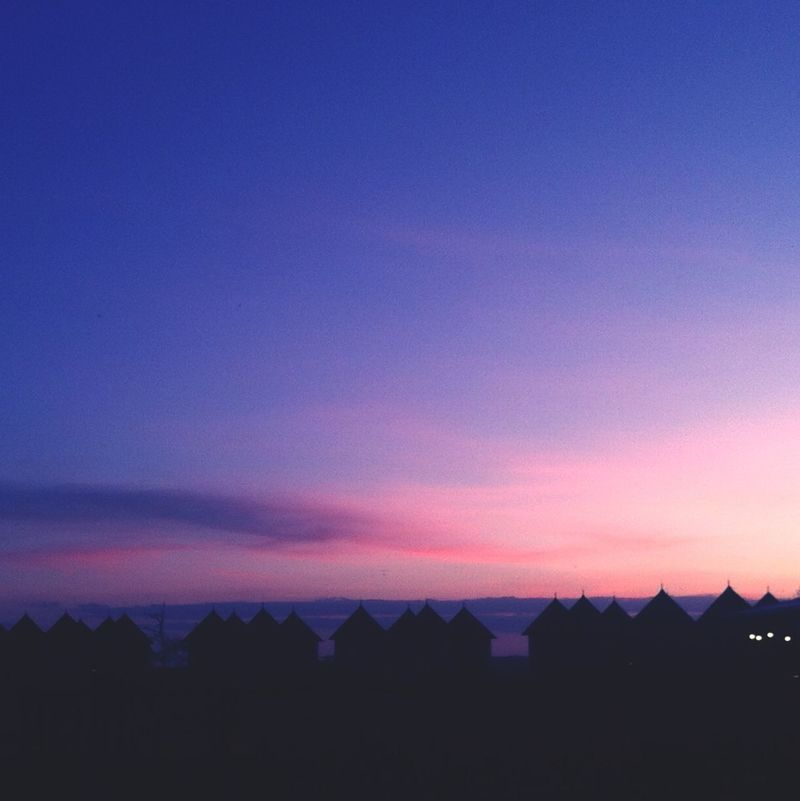 Sunset Silhouettes Silhouette Belong Anywhere Violet By Motorola