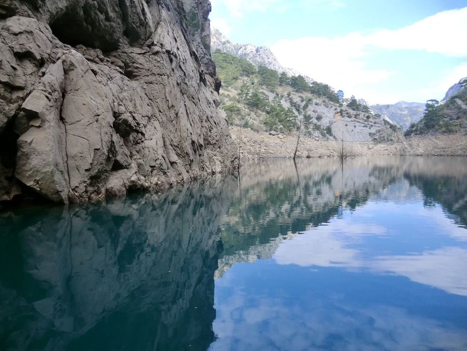 The KIOMI Collection Blue Wave The Great Outdoors With Adobe The Great Outdoors - 2015 EyeEm Awards Miles Away Greencanyon  Turkey Boattrip