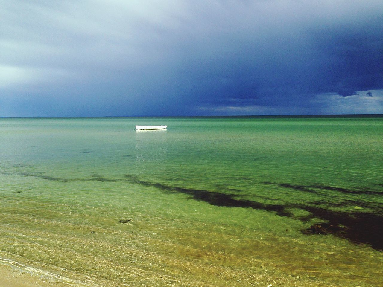 Sea Water Horizon Over Water Sky Tranquil Scene Scenics Tranquility Beach Beauty In Nature Seascape Cloud - Sky Cloud Cloudy Nature Non-urban Scene Calm Shore Blue Ocean Coastline
