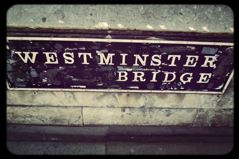London At Westminster Bridge Taking Photos