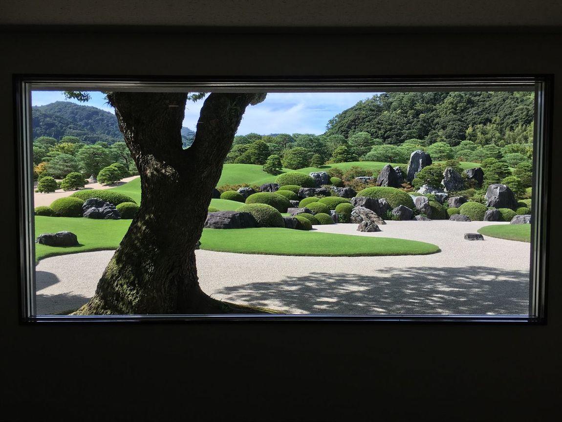 足立美術館 Taking Photos IPhoneography 日本庭園 足立美術館