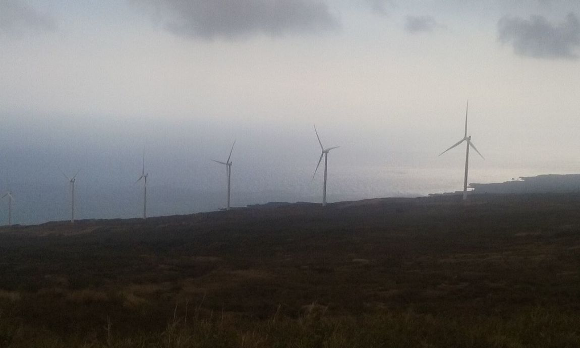 How Do We Build The World? Kaupo, Maui Windmills Overcast Skies Maui Nokaoi Valley Isle Island Life Island Living Eye For Photography EyeEm Beautiful Nature Enjoying Life Live Aloha
