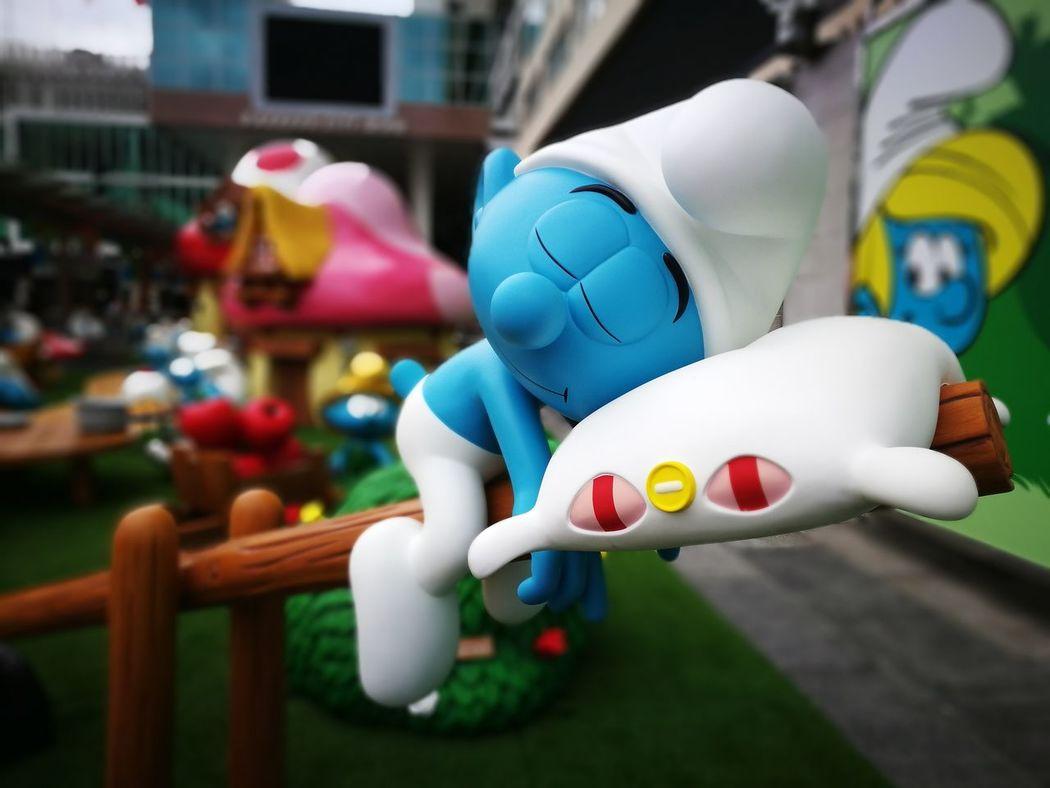 The Smurfs HongKong Hongkonger Habourcity Take Me To Bed Daydreaming