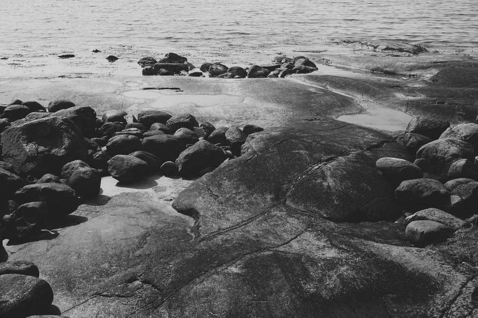 Rocka and stones by the sea Animal Themes Animals In The Wild Beach Beauty In Nature Black & White Black And White Blackandwhite Blsckandwhite Day Monochrome Nature No People Outdoors Pebble Pebble Beach Rock Rock - Object Rocks Sea Shore Stone Stones Water Wave