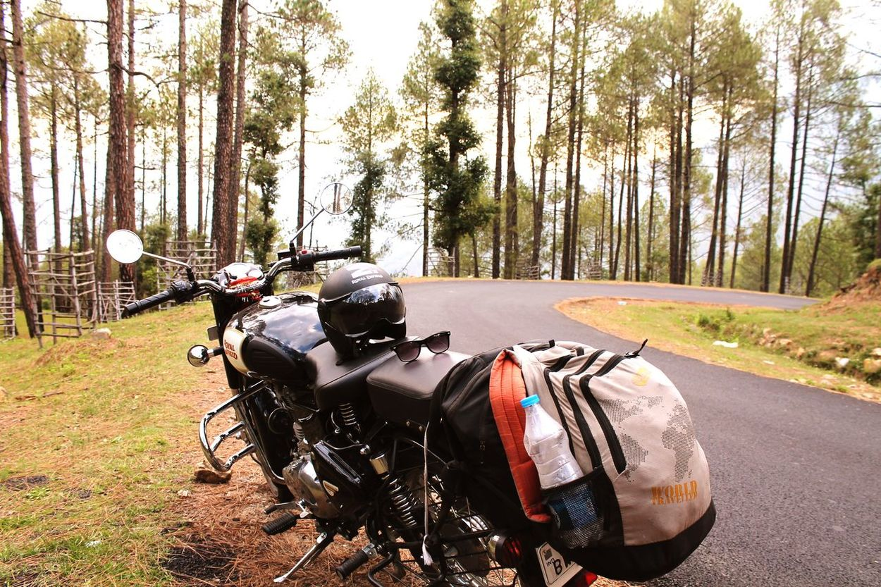 Royal Enfield Nature Outdoors Road Natureloverforlife Adventure Club Scenics Beauty In Nature Landscape Taking Photos Nature_green