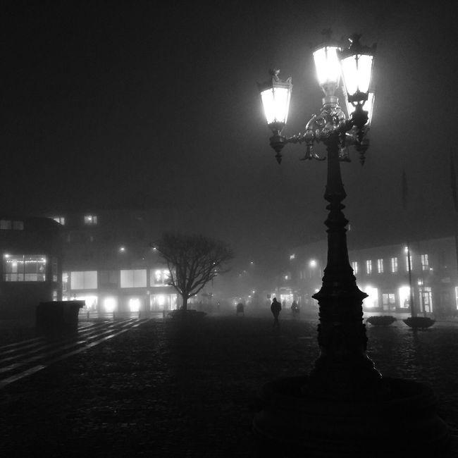 Nightphotography Monochrome Darkness And Light Streetphotography Blackandwhite