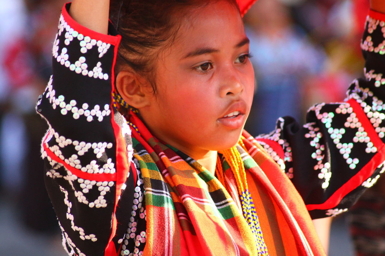 Beauty Celebration Cultural Celebration Cultures Day Festival Headshot Light And Shadows One Person People People Photography Period Costume Philippines Photos Real People South Cotabato Street Dancing Street Photography T'nalak Festival Traditional Clothing Filipina Purist In Photography