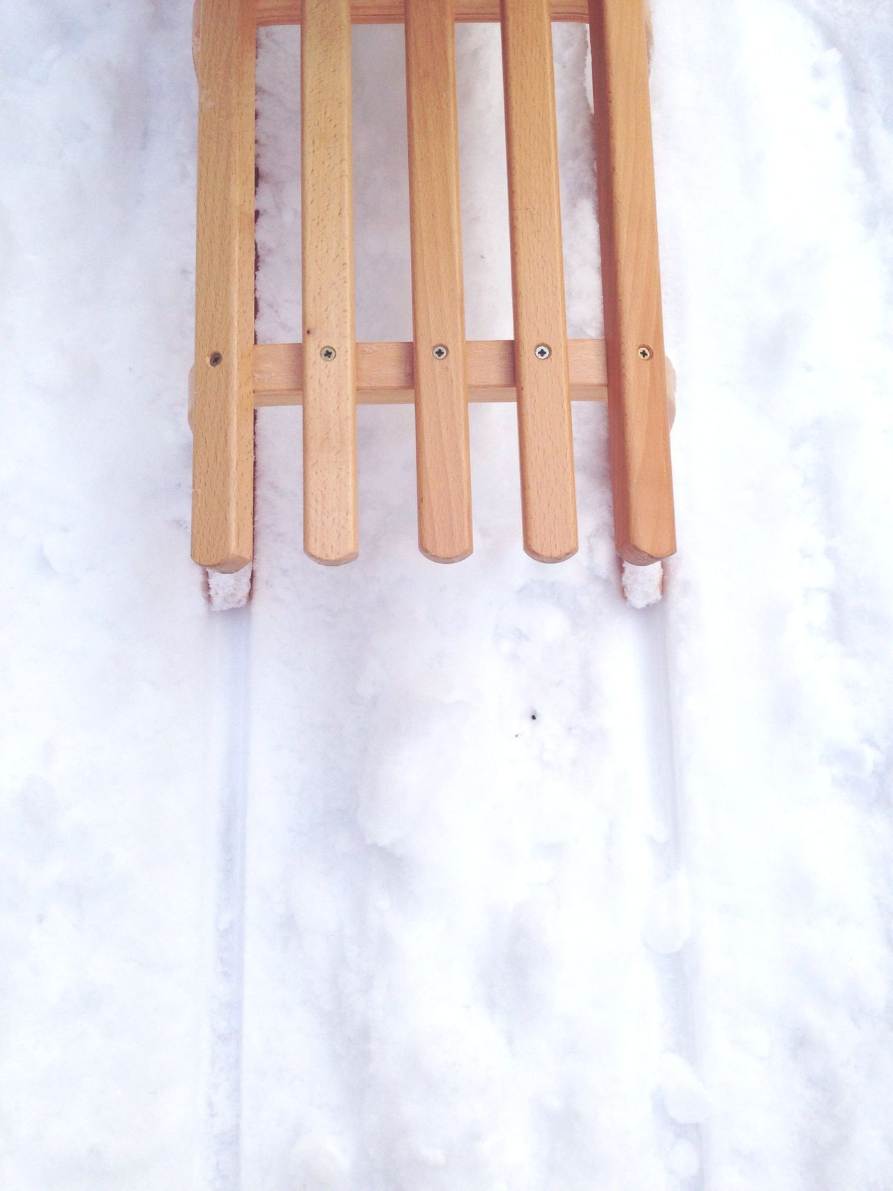 Sledding Sleigh Winter Wonderland Snow