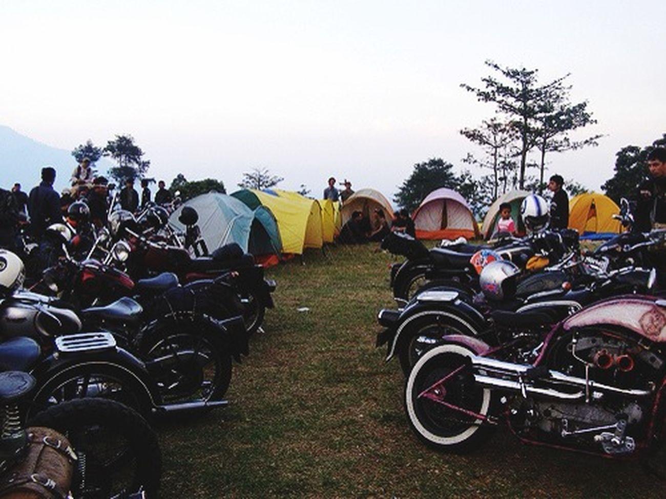 Bikers Brotherhood Mc Camping Classic Motorcycles Bandung, West Java Motorcycle Club 1% Brotherhood Forever Forever Brotherhood Hello World Enjoying Life Great Atmosphere