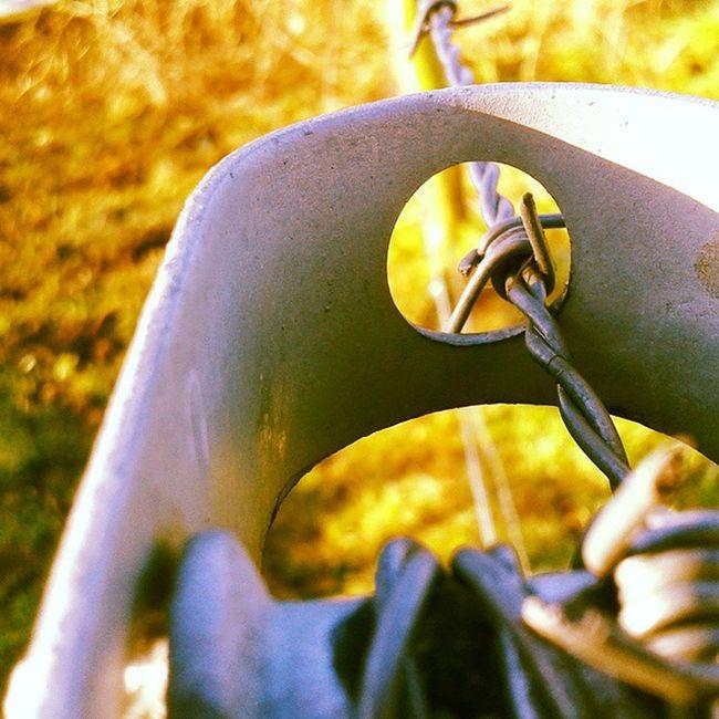 Lekker wandelen in de Blauwekamer Nature String Iron metal