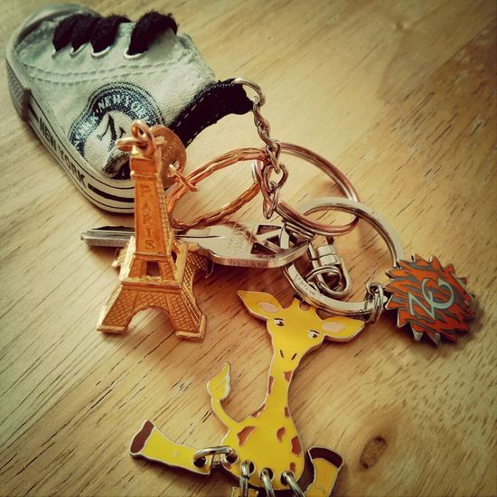 can you realize that I have only one key! Vintage Travel House