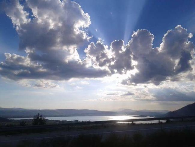 No Filter No_edits Clouds And Sky Highways&Freeways Lake View Mountains