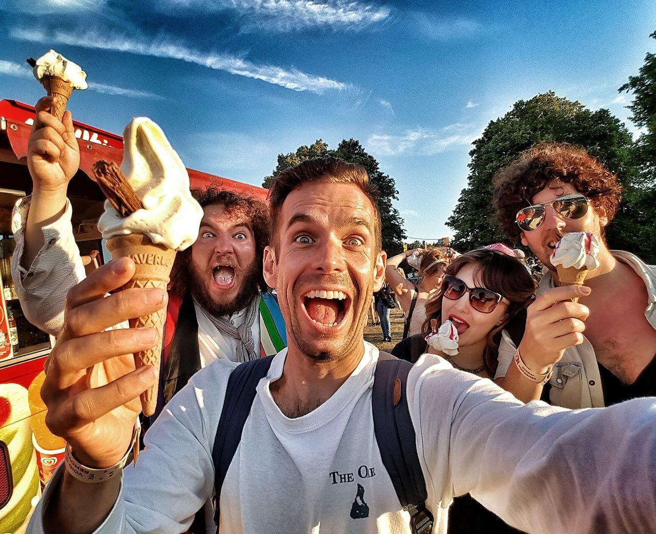 Ice Cream Me Self Portrait Festival Latitude