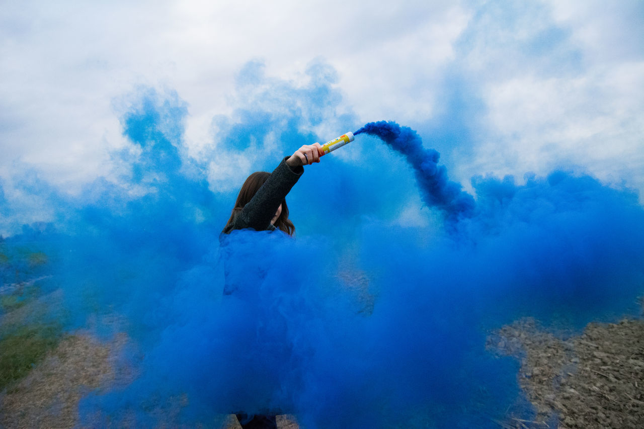 Blue Colors Italy Nature Port Smoke