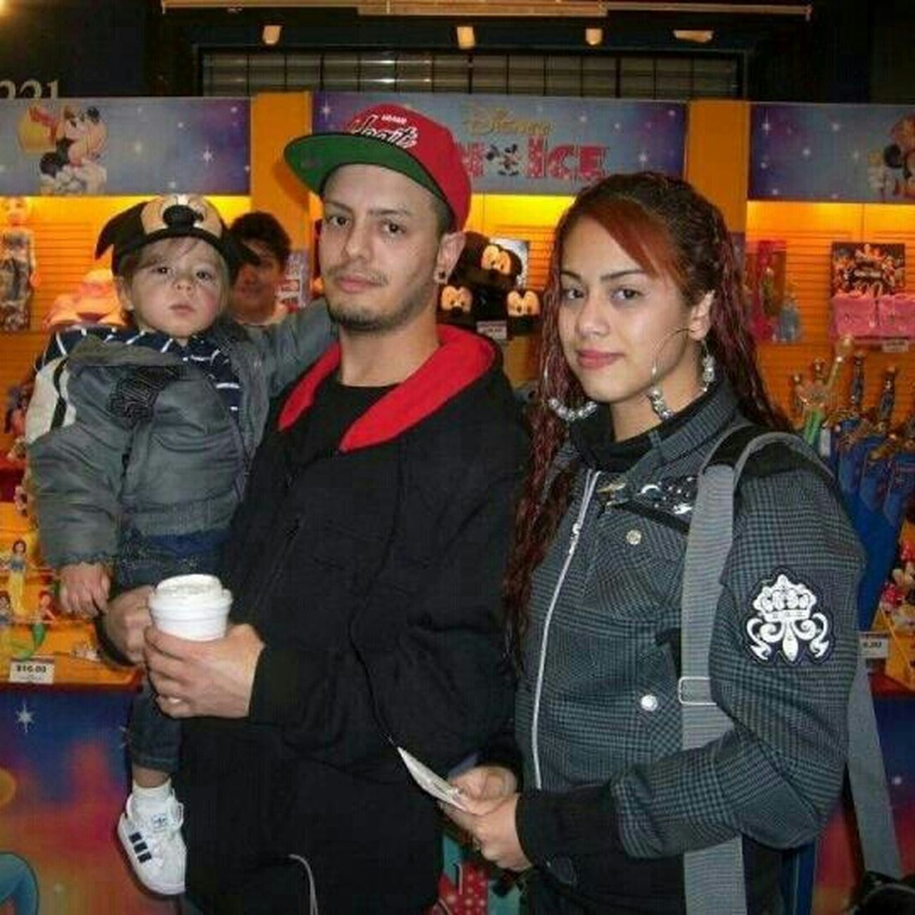 Us At Disneyon Ice