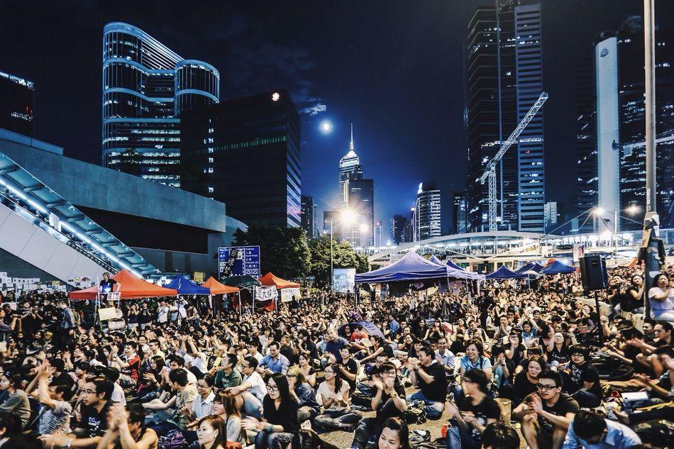 Beautiful stock photos of hong kong, Audience, Building Exterior, Built Structure, Celebration