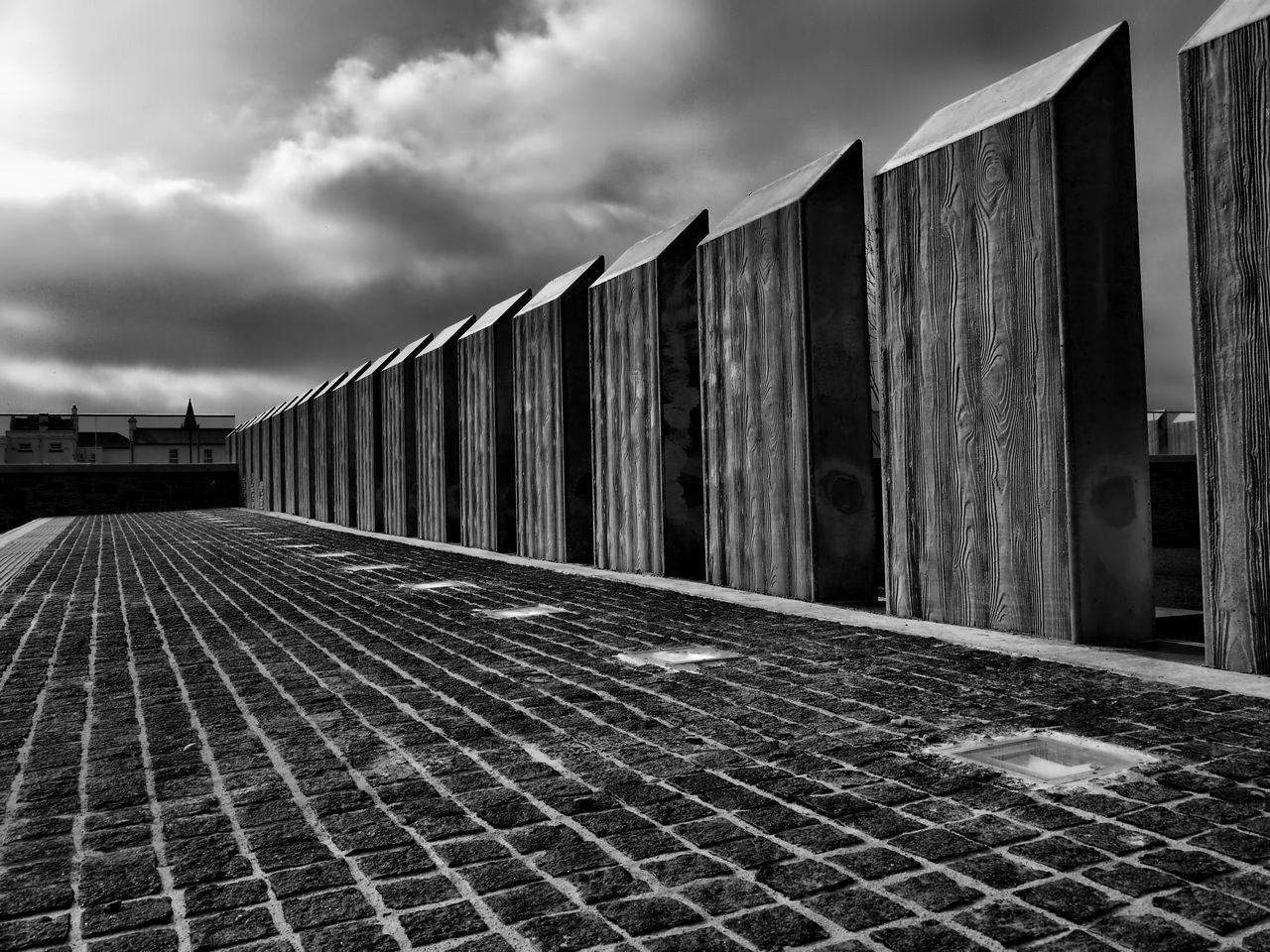 Architecture Blackandwhite Derry Derrylondonderry Empty Urban Geometry