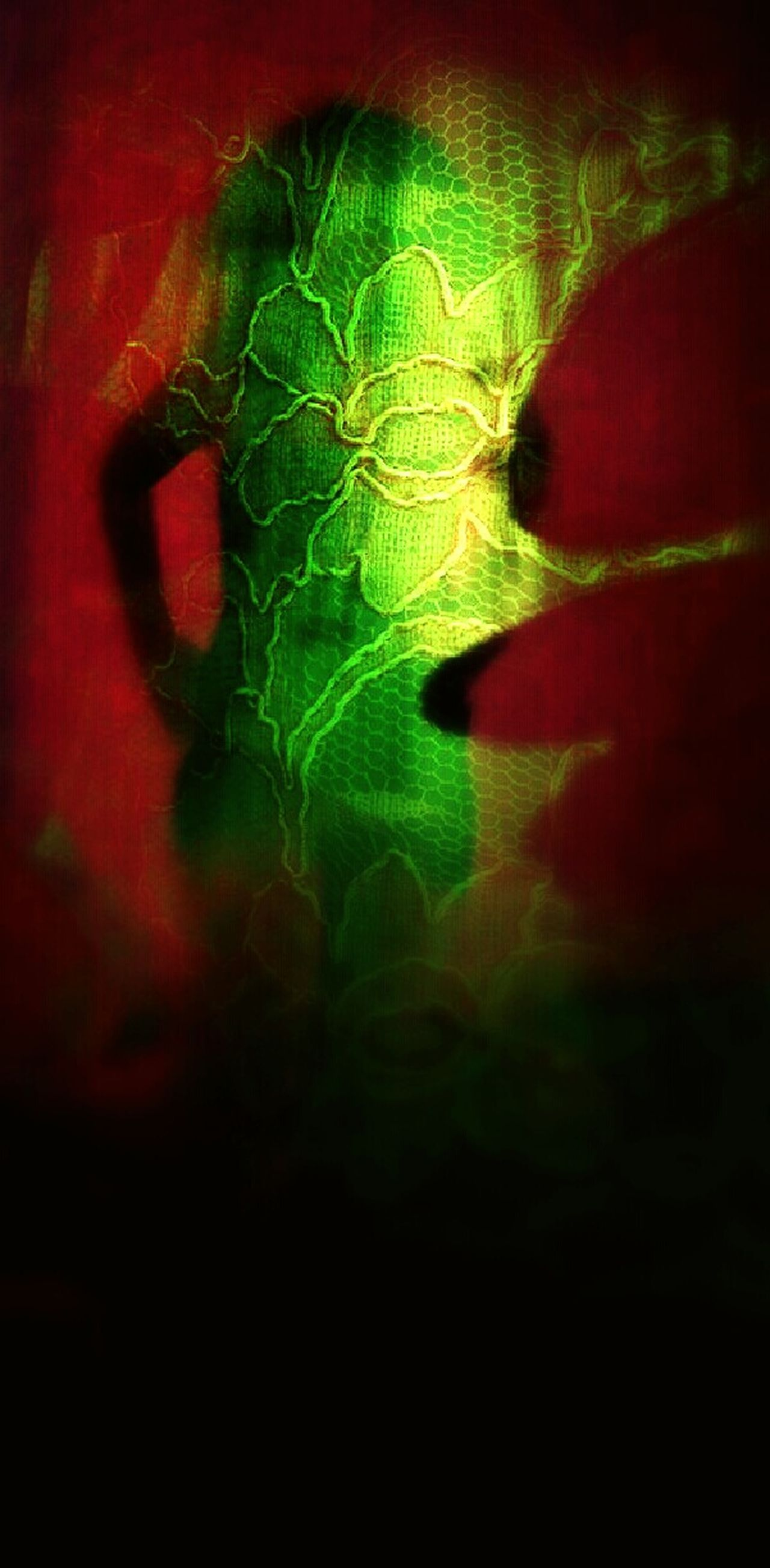 Red Abstract Green Color Backgrounds Indoors  Close-up Silouette Me Now Sillouettes And Shadows Night Life Artistic Front View Artoftheday EyeEm Gallery Enjoy The New Normal Hello World Check This Out My Unique Style EyeEmbestshots From My Point Of View Hanging Out Digitally Generated Relaxation Human Body Part People