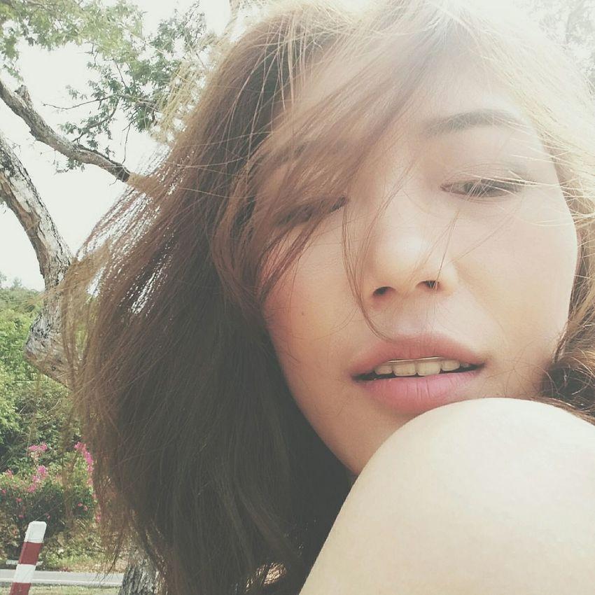 Face Thaigirl Thailand Fresh Sunshine ☀ Wannasleep Onthebeach Khokham Traveler Color Photography