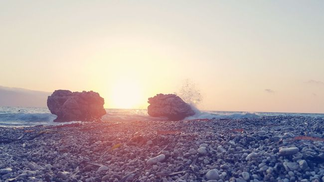 Taking Photos Relaxing Summer Life Is A Beach Albanian Riviera Holidays Seaside Waves Crashing Rocks And Water