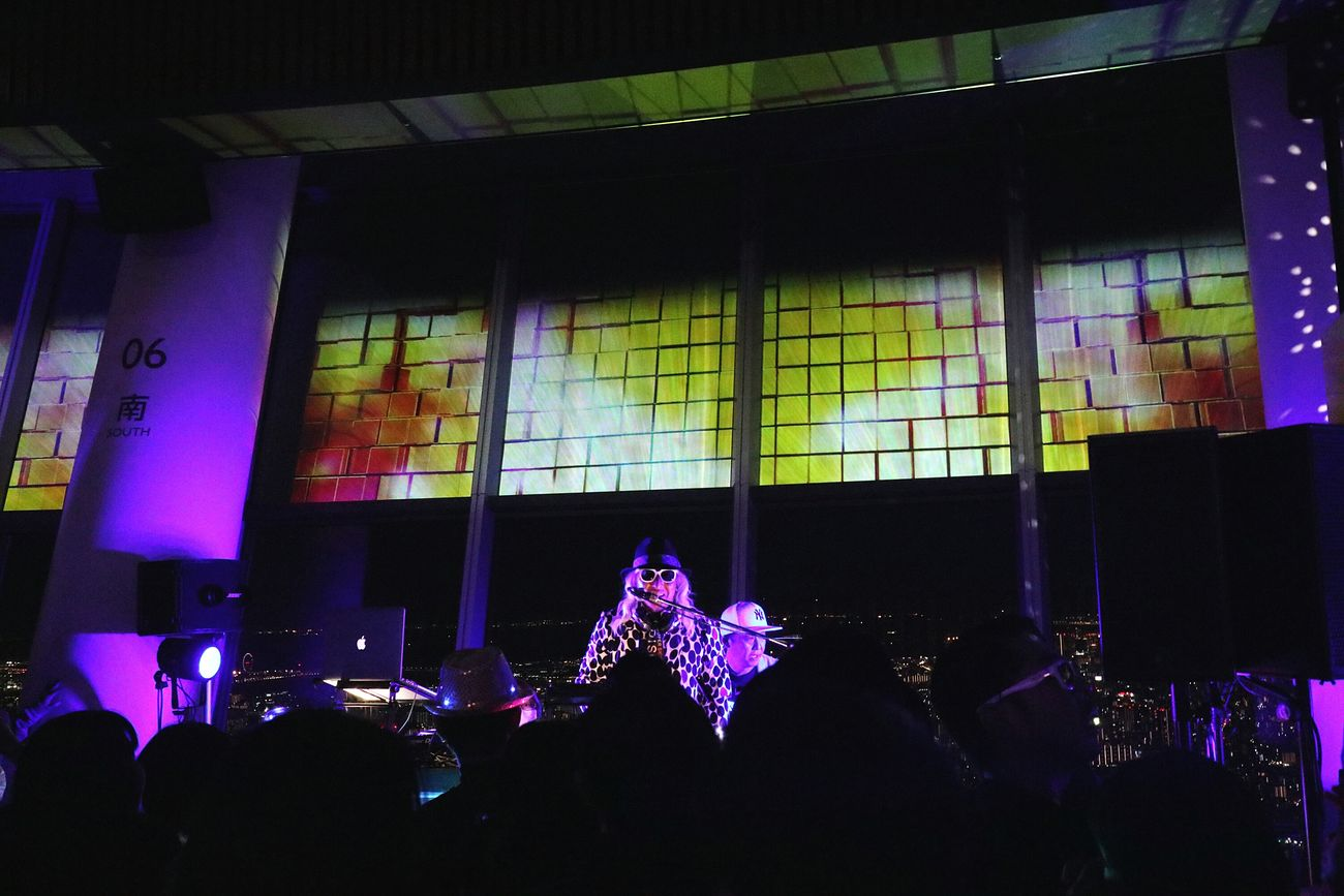 Indoors  Music Performance Tokyoskytree Skytree Japan Tokyo Nightscape Nightview Nightphotography Lighting Dj Disco Dance Discjockey