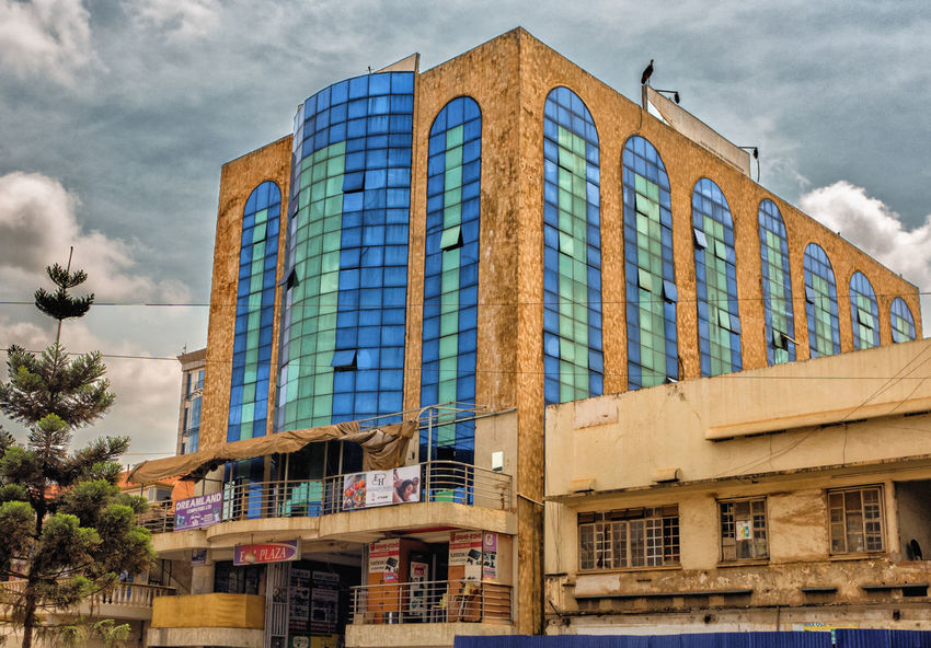 buildings in Kampala Uganda  Africa Architecture Building Exterior Built Structure City Cloud - Sky Day Façade Kampala Low Angle View No People Outdoors Sky Travel Destinations Window