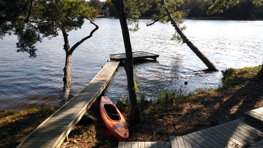 Day Escape Kayaking Lake Nature No People Outdoors Tranquility Tree Water Weekend