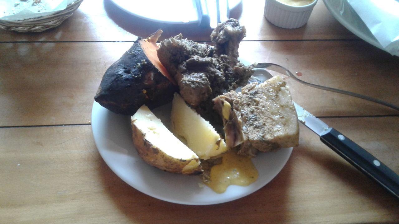 delicioso Almuerzo Comida Delicia Pachamanca Platos Peruanos Ricuritas First Eyeem Photo
