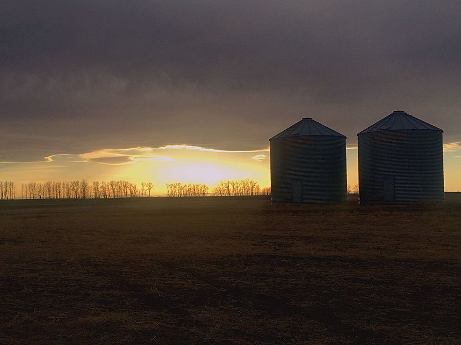 Sunset Some Where In Alberta Back Roads Hanging Out Your Saturday Is My Friday