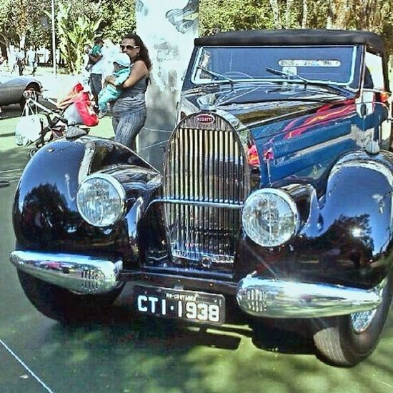 1938 Bugatti Type 57C Atalante. Classic Car Taking Photos Streetphotography Vintage