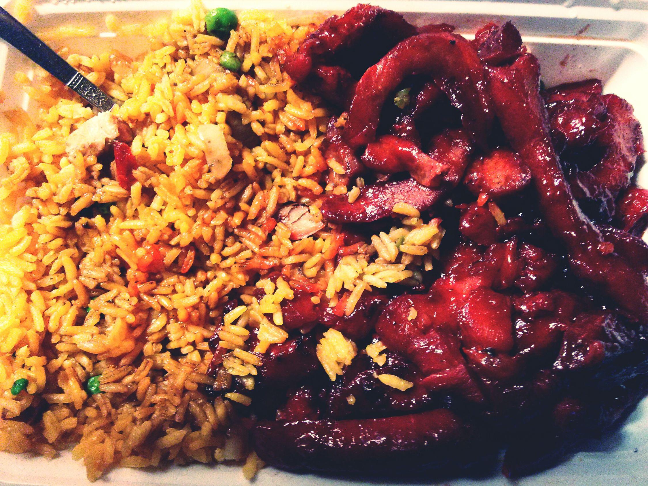 What's For Dinner? Chinese Food Bonelessspareribs Friedrice Yum
