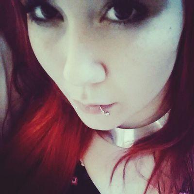 You're making me sick. Redhead Beauty Piercings Selfie