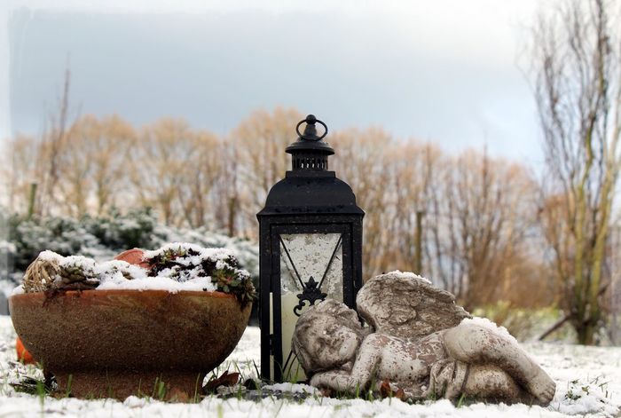 Balance Cold Cold Temperature Day Eis Friedhof Grave Graves Graveyard Beauty Gronau Ice Landscape Large Group Of Objects Outdoors R.I.P. Religion Schnee Snow White Color Winter Winter Wintertag