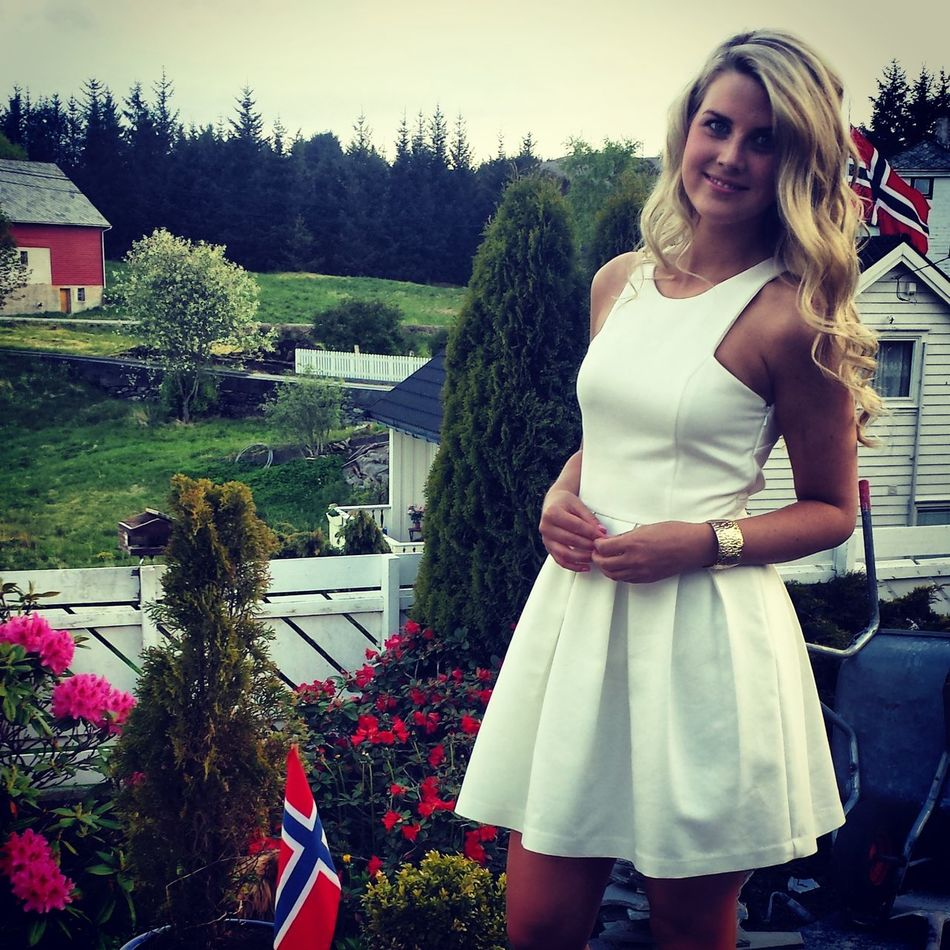 Yesterday's Ootd! Norway National Day Blonde Nature