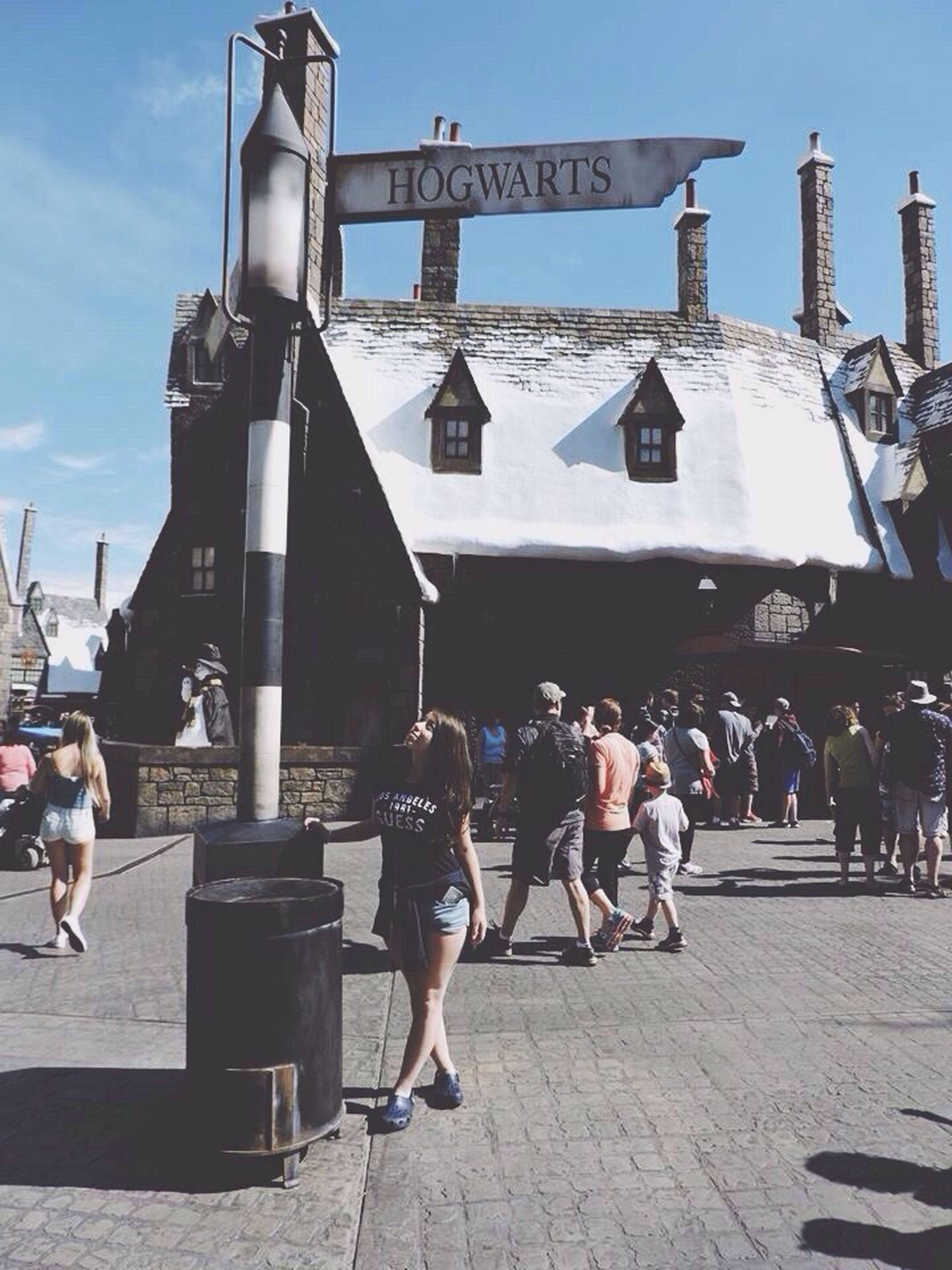 Best place ever. ??????? Harry Potter Hogwarts Orlando United States