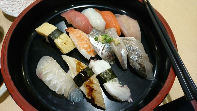 Food And Drink Food High Angle View Close-up Meal No People Main Course Sushi Sushitime Sushilover
