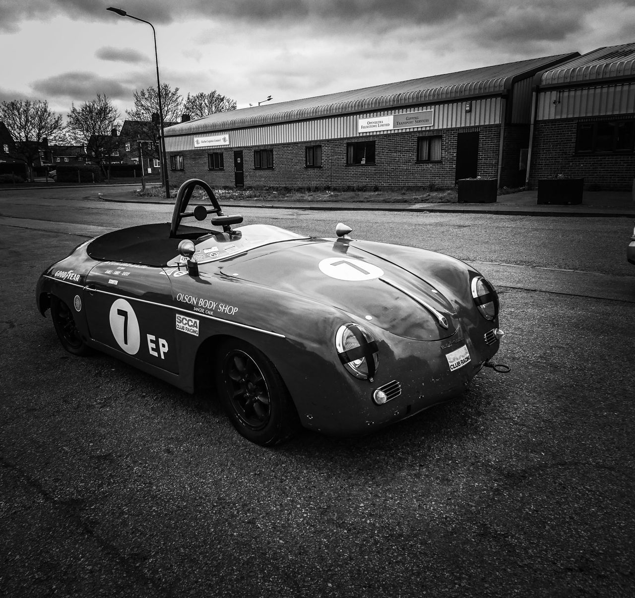 Transportation Land Vehicle Old-fashioned Sports Track Sports Race Racecar Motorsport No People Car Outdoors Day Sky