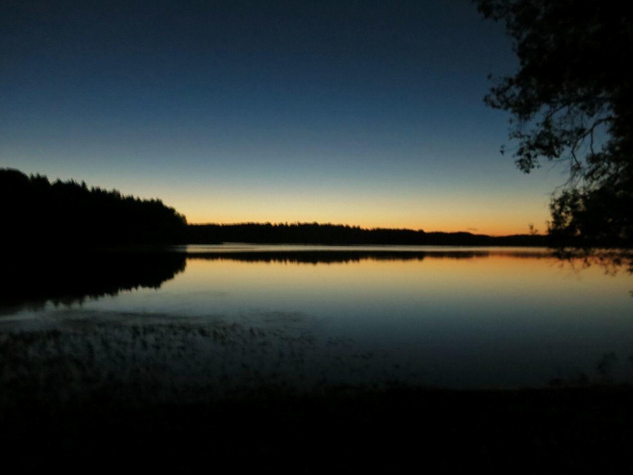 Yesterday evening around 9 o'clock PM. Evening Sky Sunset Beach Nature Reserve
