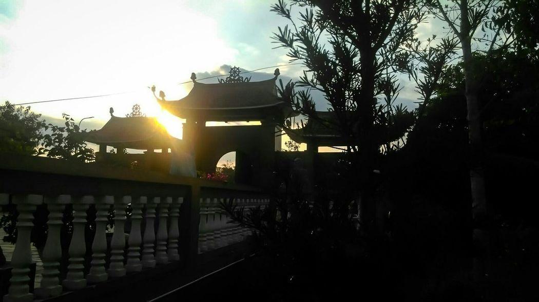Twilight Pagoda Walking Around Mobile Photography My Best Photo 2015