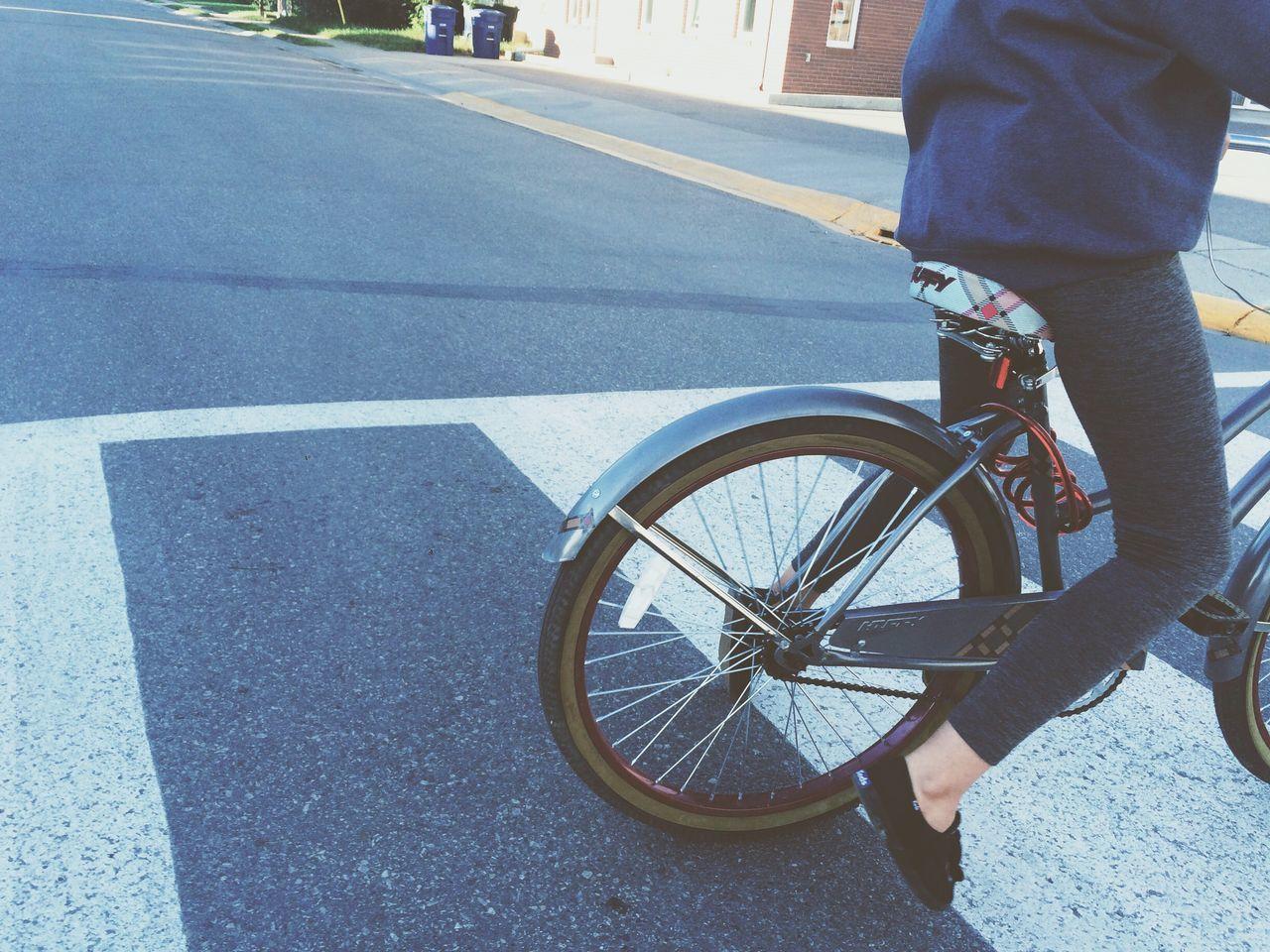 Biking Escaping Soaking Up The Sun