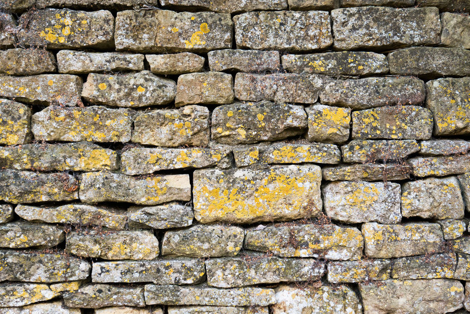 Backgrounds Cotswold Cotswold Stone Cotswolds Day Dry Stone Dry Stone Wall Full Frame Layered Layers Moss Outdoors Stone Stone Material Stone Wall Stones Wall
